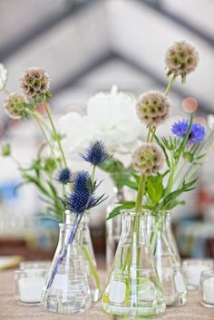 Image result for test tube wedding centerpieces