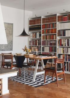 Bookcase, Bookshelves, Birthday Presents, Cool Furniture, Places, Table, Personal Library, Instagram, Home Decor