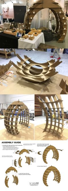 Stand oval-shaped for organic cosmetic beauty treatments Ayuna designed in cardb