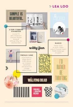 El proceso de diseño. El moodboard - Three Feelings