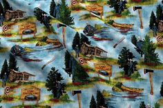 Friday The Fabric - Camp Crystal Lake - Sky By Thecalvarium - Halloween Horror Movie Spooky Cot Halloween Horror Movies, Canvas Designs, Custom Fabric, Canvas Fabric, Google Images, Spoonflower, Printing On Fabric, Cot, Crystals