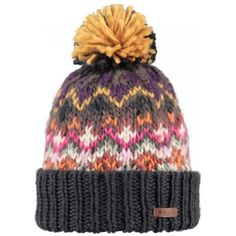 Barts Carmen Beanie Ski Hat in Walnut