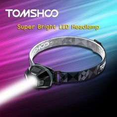 26.99$  Watch now  - TOMSHOO Super Bright LED Headlamp High Power Flashlight Water Resistance USB Cable Rechargeable Headlight Lamp for Biking Camping Climbing Other Outdoor Activities