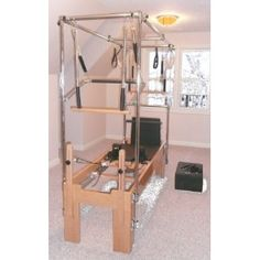 Work out area in family room