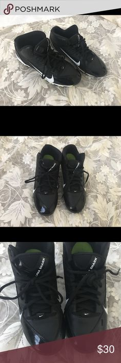 Size 6 Youth Boy's Nike Alpha Shark Football shoe Football shoe in a good wearing condition✅ Nike Shoes Sneakers