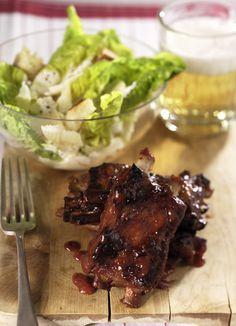 Rezept für Schweinerippchen bei Essen und Trinken. Ein Rezept für 2 Personen. Und weitere Rezepte in den Kategorien Gewürze, Obst, Schwein, Hauptspeise, Beilage, Party, Fingerfood / Snack, Backen, Kochen.