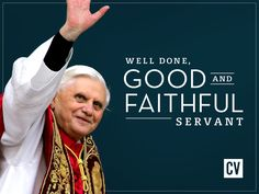 """""""Catholic Americans join their brothers and sisters in the Faith around the world in humble acceptance of the decision by Pope Benedict XVI to leave the Chair of Peter later this month...We give thanks for the rich pontificate of His Holiness Pope Benedict XVI, and await with joyful hope and prayer the workings of his Holy Spirit in our Church in the weeks ahead."""" CatholicVote.com"""