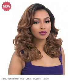 A unique way of changing a woman's look when going out for some fun. Wig! Read more about it at Sasha-says.com  #Divatress #beauty #ad