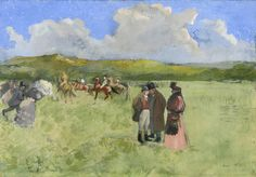 https://flic.kr/p/FEbeqC   Jean-Louis Forain - The Race Track [c.1891]   [National Gallery of Art, Washington - Oil on canvas, 80.5 x 114.9 cm]