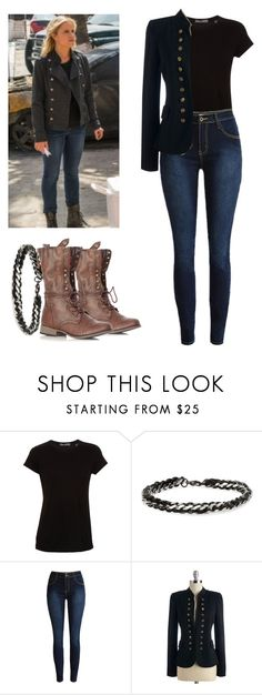 """Madison Clark - ftwd / fear the walking dead"" by shadyannon ❤ liked on Polyvore featuring Vince and Degs & Sal"