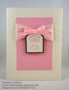 Baby card by Dawn Olchefske