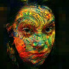 My colourful Fox friend Miss Luanna Fox. <3 @cascadekillah edited with Dreamify Fotor and Diana photo. #dianaphoto #dreamify #deepdream #fotor #psychedelic #psybient #trippy #dreamy #beautiful #colourful #mesmerizing #girl #model by tobinhdack