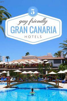 5 unique gay friendly hotels in Gran Canaria