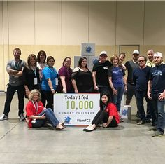 10,000 meals packed for Feeding Children Everywhere