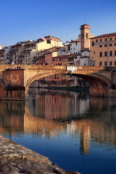 Arno River, Florence Italy. **BTDT. The last time I was in Florence was in 2003. My niece, friend and I watched a Rat the size of a Cat - literally! - swim across the river.