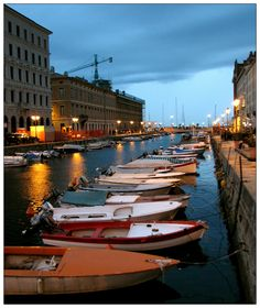 Trieste, been here done that.