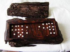 Domino madera de enebro