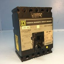 Square D FCP34100TF 100A Circuit Breaker 480V S3 Type FCL FCP FCP34100 100 Amp (EM1611-1)