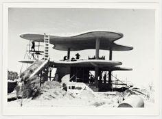 Construction Photograph  MARCEL BREUER, ARISTON RESTAURANT, MAR DEL PLATA, ARGENTINA, 1947