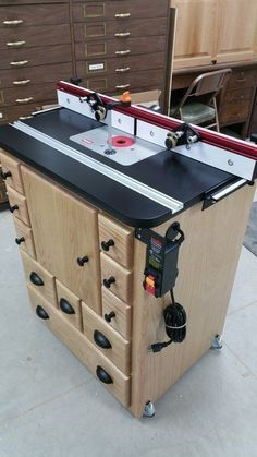 Router Table #woodworkingtools