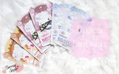 Review: Elizavecca 3 Step Sheet Masks Sheet Mask, Clear Skin, Glowing Skin, Good Skin, Collaboration, Giveaway, Berries, Masks, Kawaii