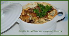 Cocotte de cabillaud aux courgettes et curry : la recette facile
