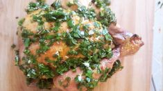Serve your turkey with a bright vinaigrette this Thanksgiving Roasted Meat, Roasted Turkey, Honey Mustard Dressing, Freshly Squeezed Orange Juice, Cranberry Sauce, Pork Loin, Vinaigrette, Cilantro, Food Processor Recipes