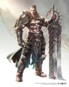 SoulBreaker / Project Black Sheep by Gpzang fighter gladiator armor clothes clothing fashion player character npc | Create your own roleplaying game material w/ RPG Bard: www.rpgbard.com | Writing inspiration for Dungeons and Dragons DND D&D Pathfinder PFRPG Warhammer 40k Star Wars Shadowrun Call of Cthulhu Lord of the Rings LoTR + d20 fantasy science fiction scifi horror design | Not Trusty Sword art: click artwork for source