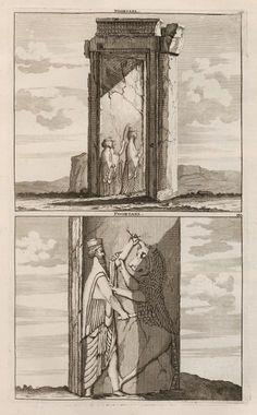 Poortaelen - Persepolis - 1704 - Cornelis de Bruijn - New York Public Library - Digital Collections