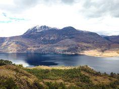 Hiking trip in Shieldaig, Scotland. We climbed a mountain, amazing views.