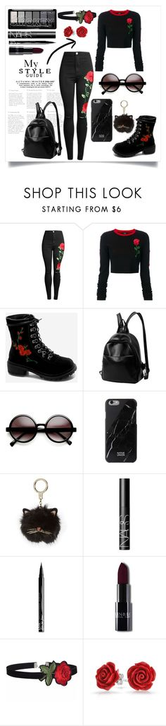 """""""My Style"""" by kitty-cat130 ❤ liked on Polyvore featuring County Of Milan, ZeroUV, Kate Spade, NARS Cosmetics, NYX, Bling Jewelry, rose and my"""