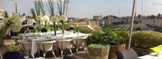 Rooftop - Mamilla Hotel in Jerusalem