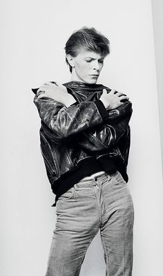 David Bowie, I think you have your jacket backwards