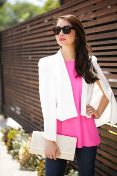 Step up your style game with a stand-out piece - http://pbly.co/EA_el50 #capeblazer