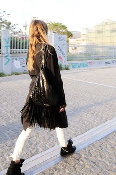 #streetstyle #muserebelle #fringes #casual #chic