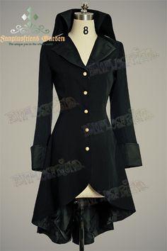 Confederate Civil War Military Coattail Jacket