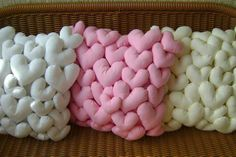 Almofadas de Coração