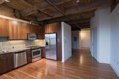 open plan modern loft kitchen