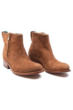 Brown Suede Boot - a great essential, year round style. Wear them with cut offs this summer and tucked in skinnies or tights the rest of the year!