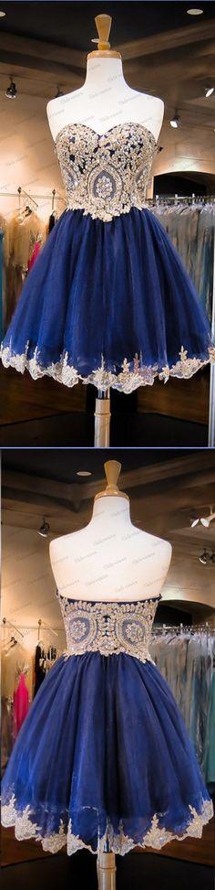 New Arrival Sweetheart Neck Gold Lace Dark Blue Homecoming Dress Navy Blue Short Prom Dress,A Line Mini Length Graduation Dresses http://www.luulla.com/product/479601/new-arrival-sweetheart-neck-gold-lace-dark-blue-homecoming-dress-navy-blue-short-prom-dress-a-line-mini-length-graduation-dresses