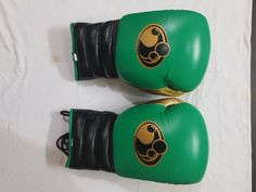 Grant Boxing Pro Lace Up & Velcro Training Gloves-Authentic 100% Cowhide Leather