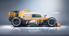VW custom race car design