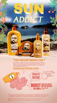 SUMMER IS COMING sun care products LOVEA  #summeriscoming #summer #sun #suncare #sunprotection #cosmetics #love #lovea #digital #campaign #smallcreativeunit   https://vimeo.com/95952700