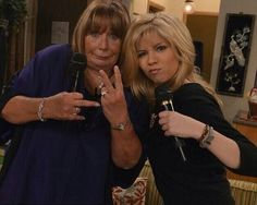 Penny Marshall & Jennette Mccurdy Salmon Cat, Icarly And Victorious, Penny Marshall, Sam E, Jennette Mccurdy, Actors & Actresses, Brand New, Cats, Cool Stuff