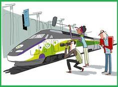 """Pregopontocom Tudo: Thalys anuncia planos para lançar serviço Izi de Thalys anuncia planos para lançar serviço Izi de trem de baixo custo entre Paris e Bruxelas Transportes sobre trilhos  Os trens,com a marca Izi,vão operar em linhas de velocidade convencionais,em vez de linhas de alta velocidade na França para reduzir os custos de infra-estru tura,não terão nenhum buffet,e as vendas de bilhetes serão feitas apenas por meio digital pelo """"izy. com""""...."""