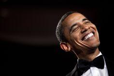 Sonreír, la rección más común de Obama a dichos de Trump
