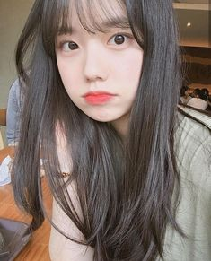 Joo wo mi, klo gak salah sih gtu nama nya Pretty Korean Girls, Korean Beauty Girls, Cute Korean Girl, Asian Beauty, Asian Girl, Ulzzang Hair, Ulzzang Korean Girl, Cute Korean Fashion, Korean Girl Photo