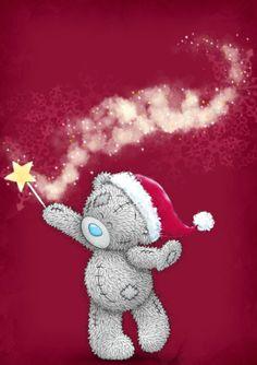 CHRISTMAS TATTY TEDDY *