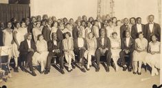Tuskegee Institute Knights of Columbus Formal Dance, 1928.  Marion Woodfork Simmon family collection http://discoveringyesterday.wordpress.com/