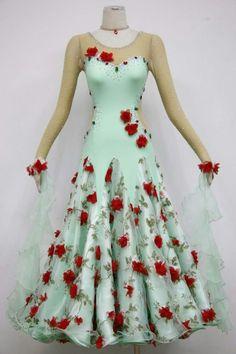 Professional ballroom dance dresses for sale B1584